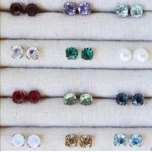 C+I Assorted Stud Earrings NWOT